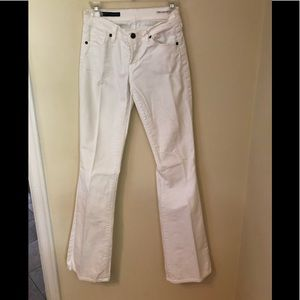 White Citizens flare bottom jeans in size 27
